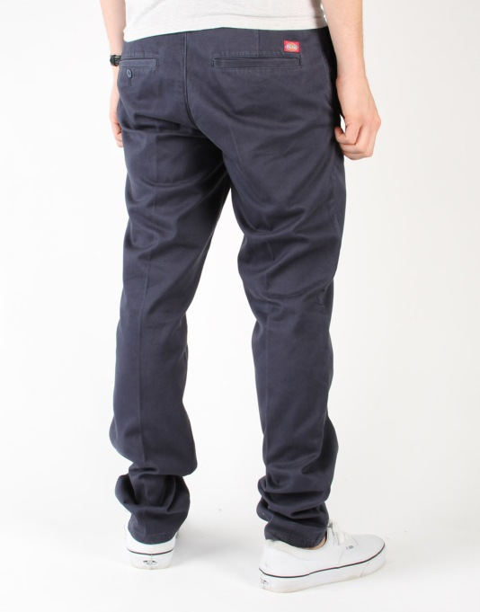 Dickies C182 Tapered Slim Pants - Navy