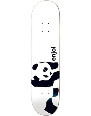 Enjoi Whitey Panda Skateboard Deck - 7.75
