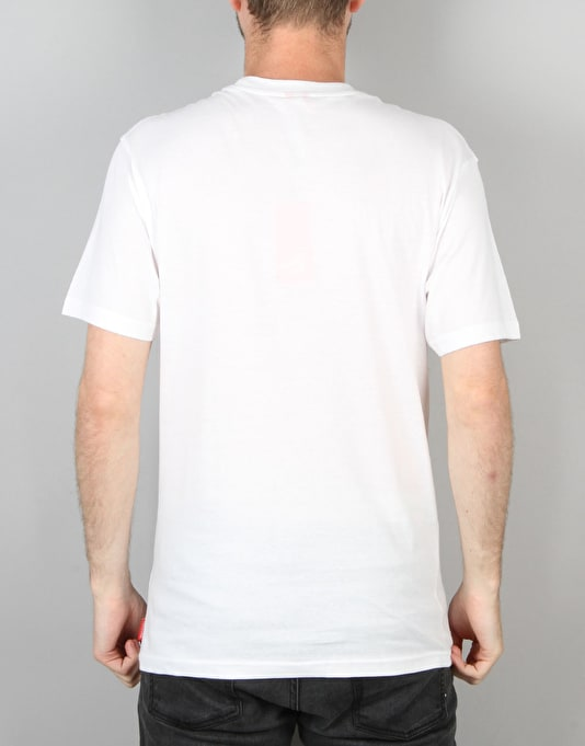 Santa Cruz Reverse Dot T-Shirt - White
