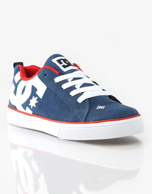 DC Court Graffik Vulc Boys Skate Shoes