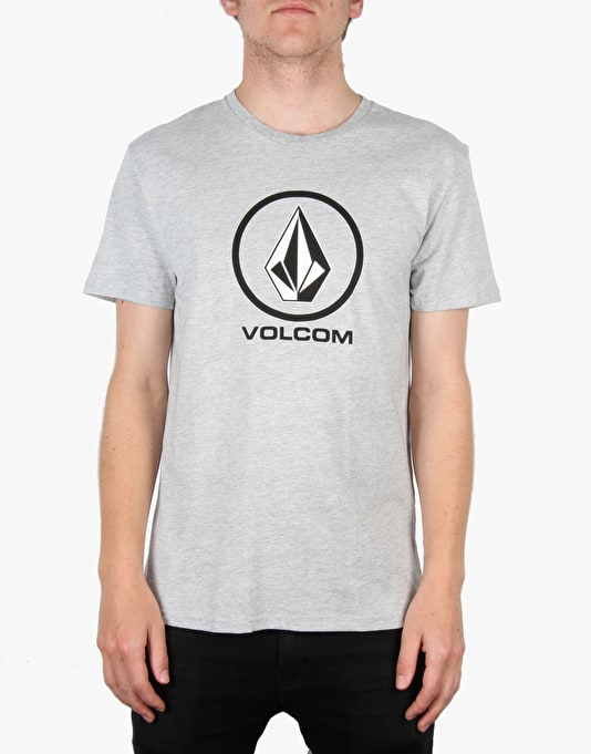 Volcom Circle Stone Basic T-Shirt - Grey