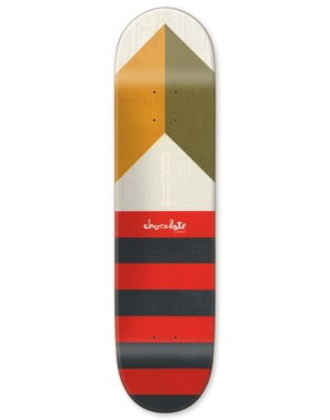 Chocolate Berle Battle Flag Pro Deck - 8.5