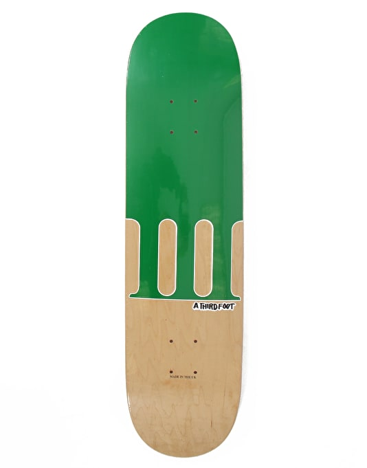 A Third Foot Numeral Team Deck - 8""