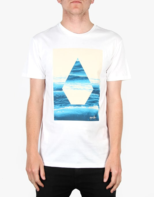 Volcom Summer Slide Basic T-Shirt - White