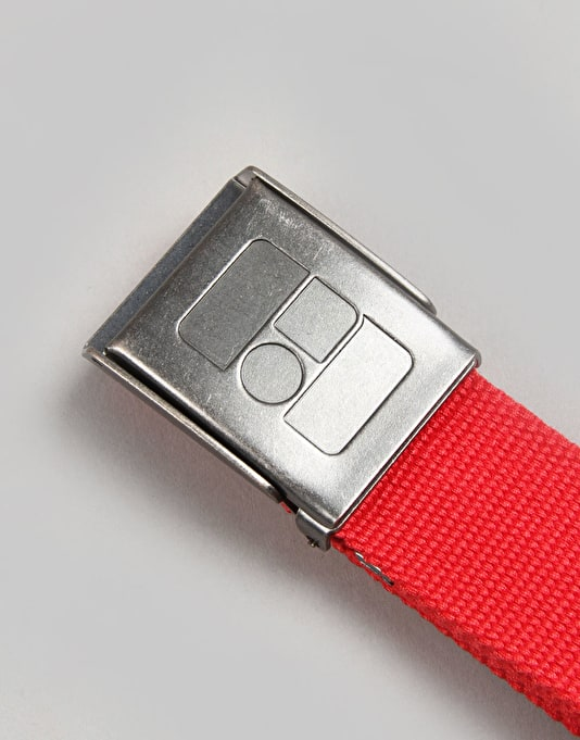 Route One Basic Web Belt - Mars Red