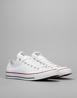 Converse All Star Lo Plimsolls - Optical White