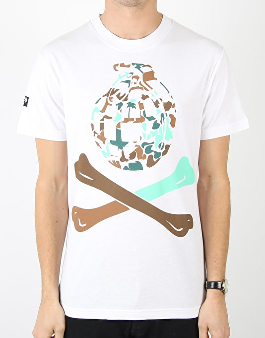 Trainerspotter Bubble Camo X Bones T-Shirt