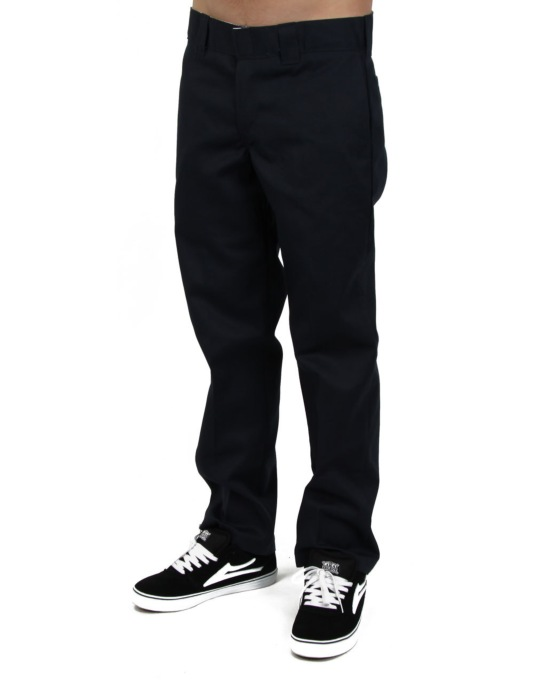 Dickies 873 Slim Work Pants - Dark Navy