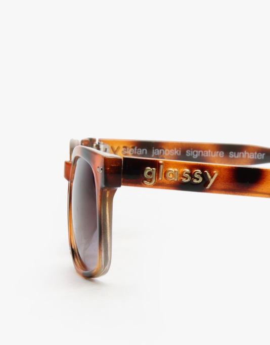 Glassy Janoski Signature Sunglasses - Tortoise Shell