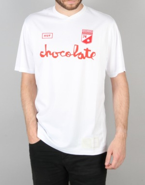HUF x Chocolate Torrance FC Soccer Jersey - White