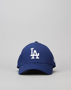 New Era 39Thirty MLB LA Dodgers League Basic Cap - Light Royal