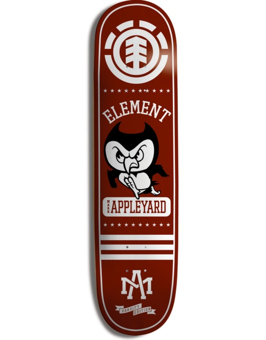 Element Appleyard Varsity Skateboard Deck - 7.625""