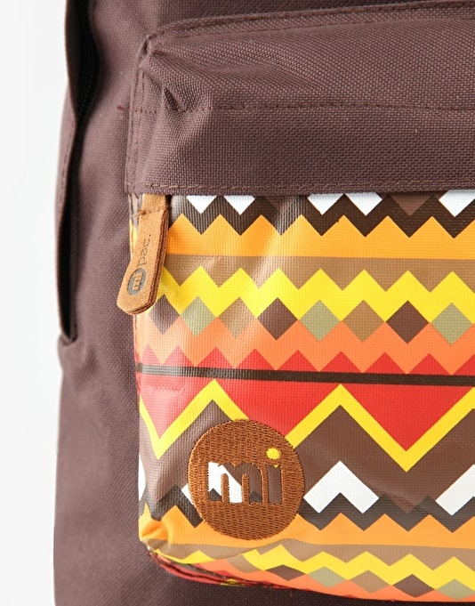 Mi-Pac Navajo Backpack - Chocolate