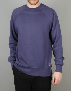 Route One Basic Sweatshirt - Navy