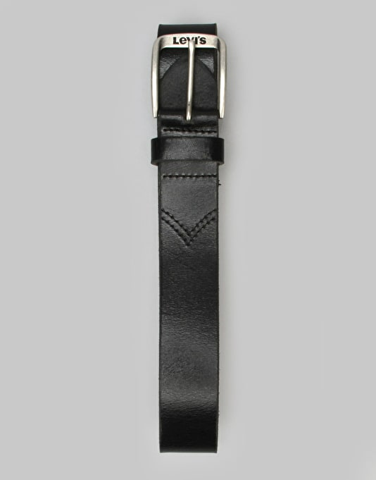 Levis Alturas Leather Belt - Regular Black
