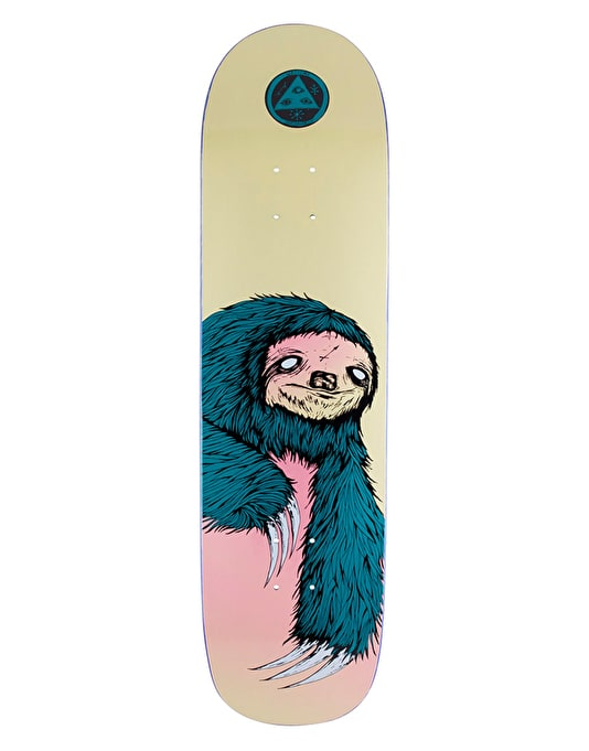 Welcome Sloth 2 on Big Bunyip Team Deck - 8.5""