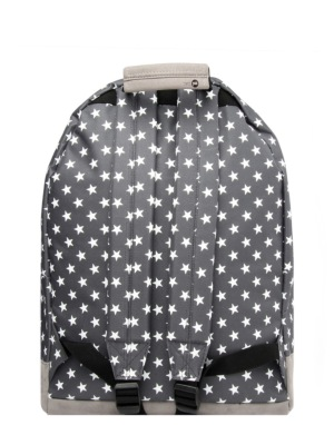 Mi-Pac All Stars Solid Pocket Backpack - Charcoal