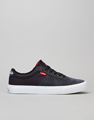 Lakai x Chocolate Flaco Skate Shoes - Midnight Suede