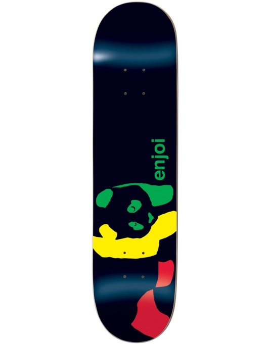 Enjoi Rasta Panda Team Deck - 8.1""