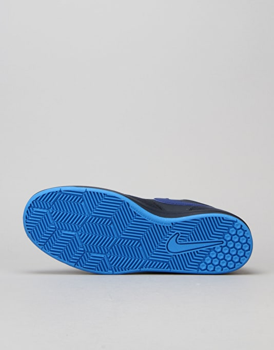 Nike SB Fokus Boys Skate Shoes - Obsidian/Deep Royal/Black