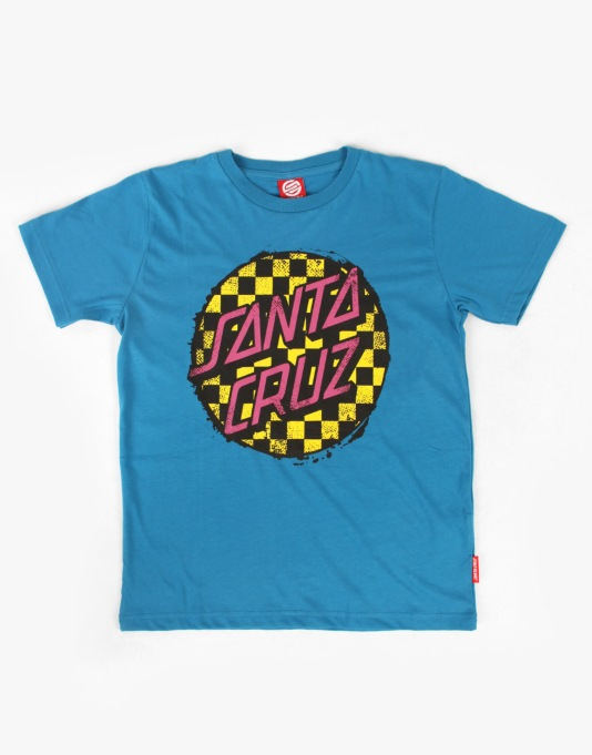 Santa Cruz Check Dot Boys T-Shirt