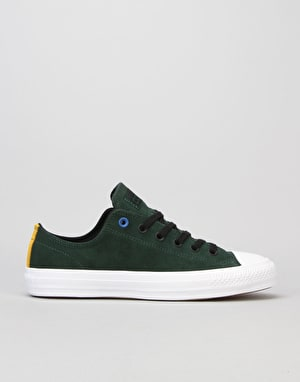 Converse CTAS Pro (90's Colour) Skate Shoes - Deep Emerald/Black/White