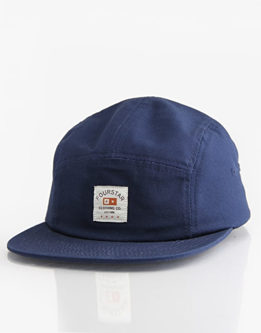 Fourstar Trademark Label 5 Panel Cap - Navy