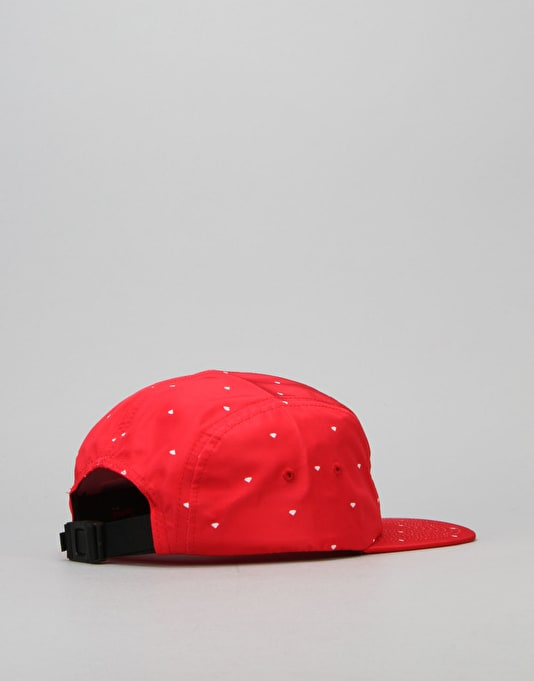 Diamond Supply Co. Deco 5 Panel Cap - Red
