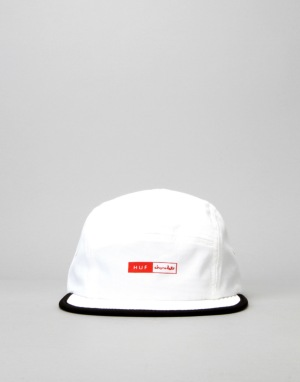 HUF x Chocolate Packable Volley 5-Panel Cap - White