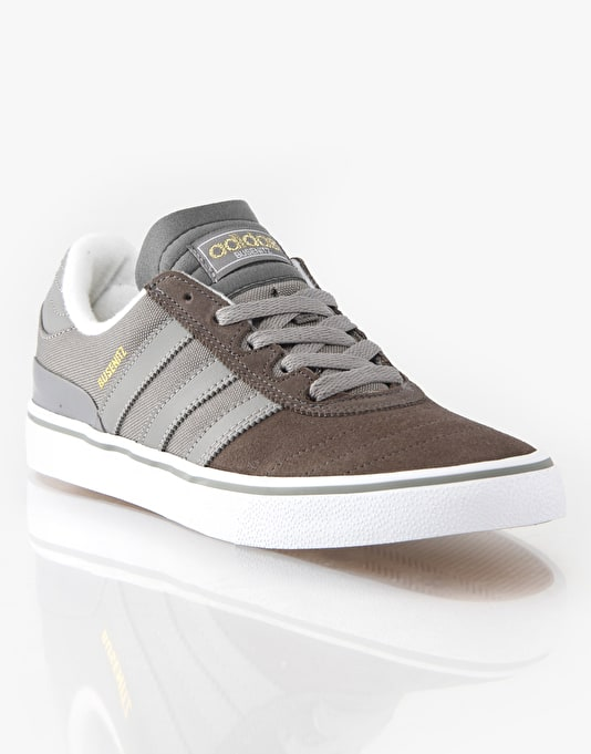 Adidas Busenitz Vulc Skate Shoes - Cinder Grey/White