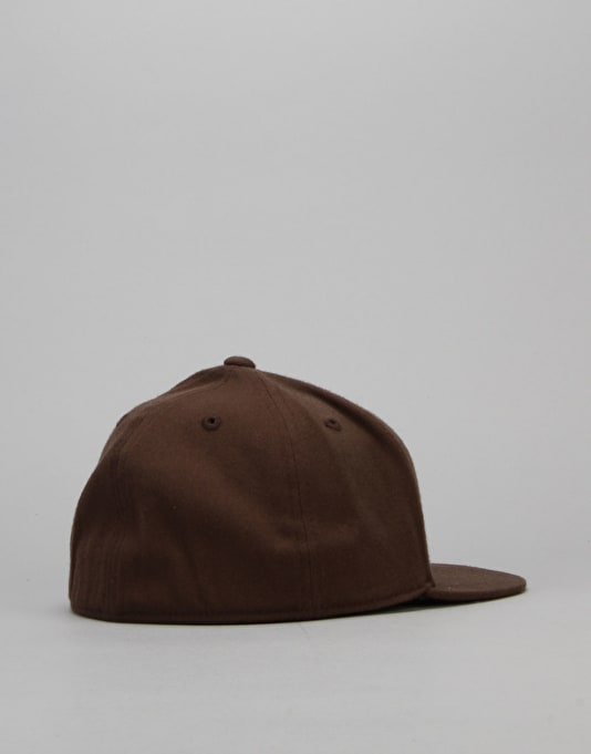 Route One Blank 210 Flexfit Fitted Cap - Brown