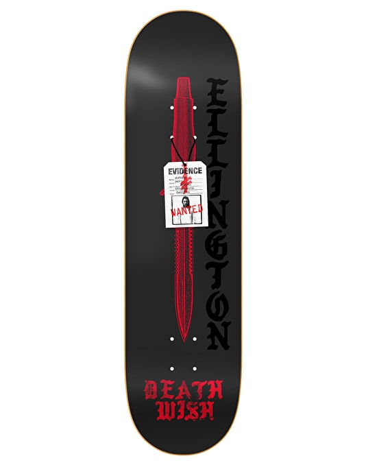 Deathwish Ellington Deadly Intent Pro Deck - 8.38""