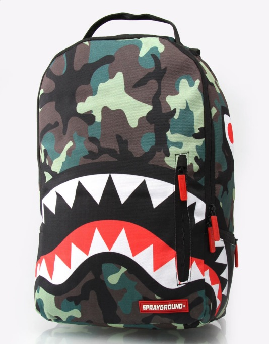 Sprayground Shark Deluxe Backpack