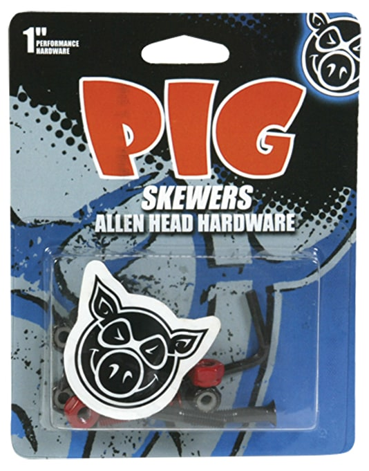 "Pig Skewers 1"" Allen Bolts"