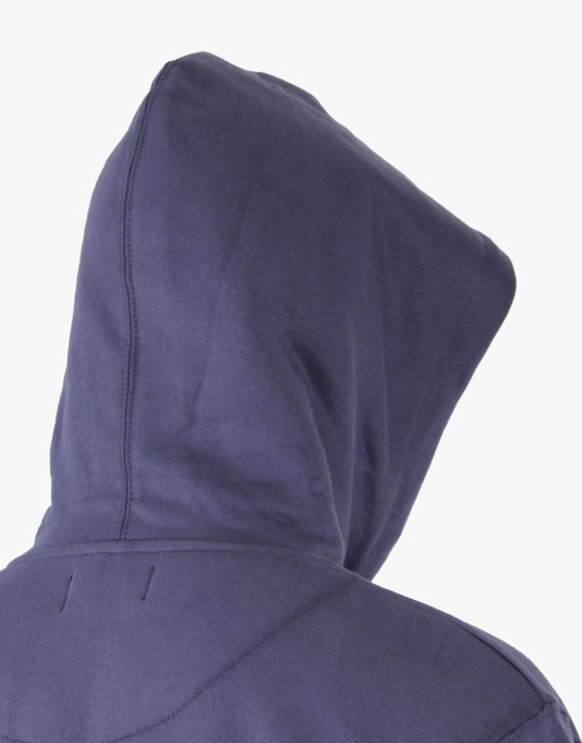 Route One Basic Zip Hoodie - Navy