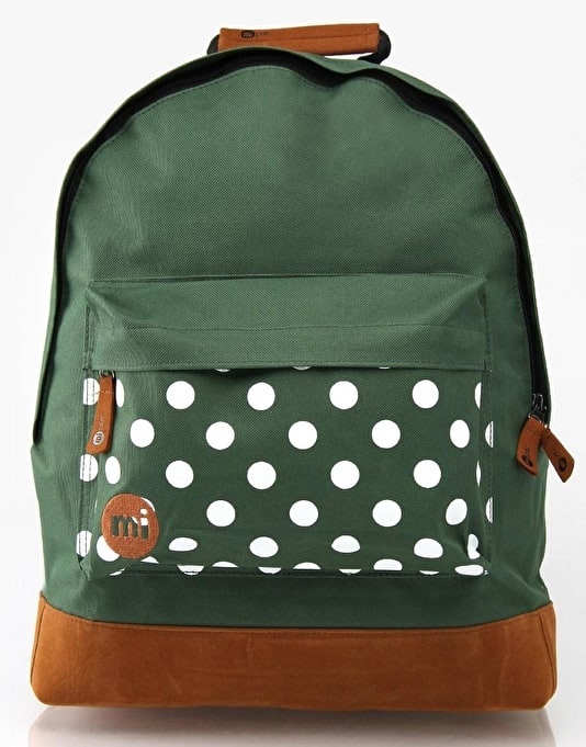 Mi-Pac Polka Dot Backpack - Green
