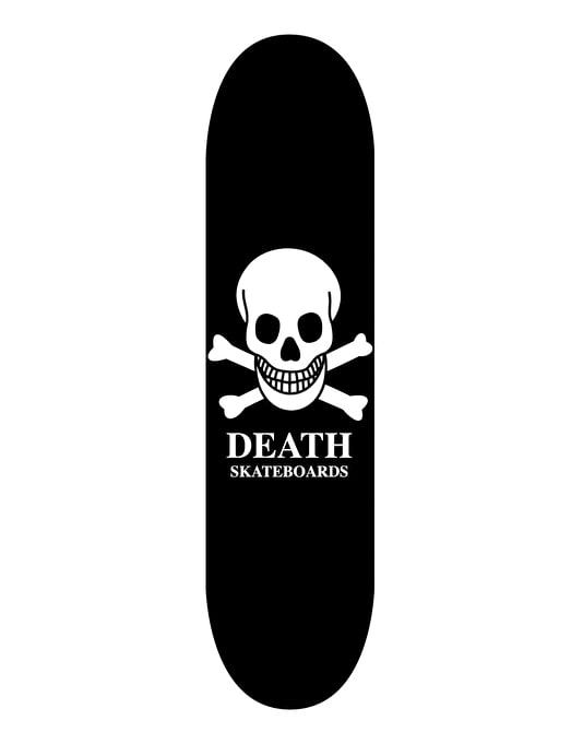 Death Skull Skateboard Deck - 8""