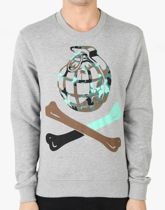 Trainerspotter Bubble Grenade Bones Sweatshirt
