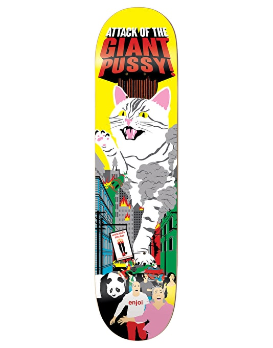 Enjoi Barletta Monster Movie Impact Plus Pro Deck - 8""