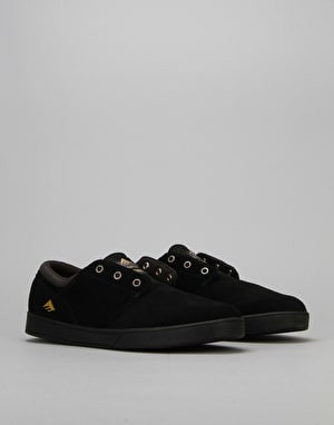 Emerica The Figueroa Skate Shoes - Black/Black