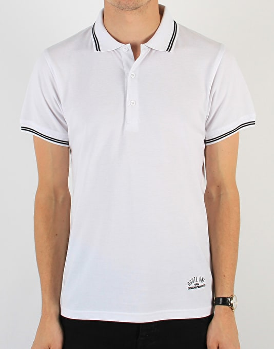 Route One Polo Shirt - White