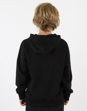 Route One Boys Basic Hoodie - Black