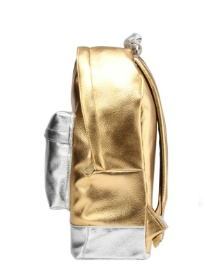 Mi-Pac 24K Backpack - Gold/Silver