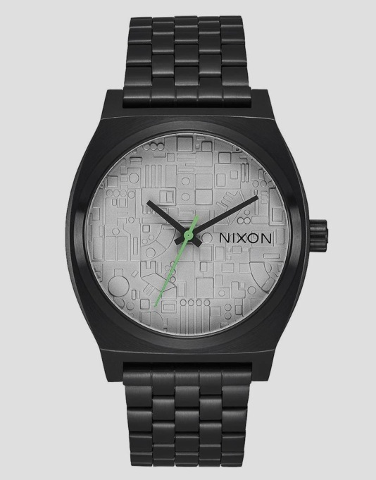 Nixon x Star Wars Time Teller Watch - Death Star Black