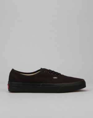 Vans Authentic Plimsolls - Black/Black