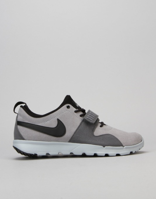 Nike SB Trainerendor Skate Shoes - Cool Grey/Black-Dark Grey-Wolf Grey