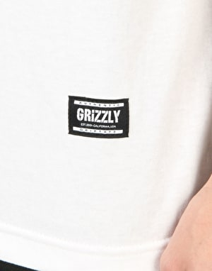 Grizzly T-Puds Fruity Pebbles Stamp T-Shirt - White