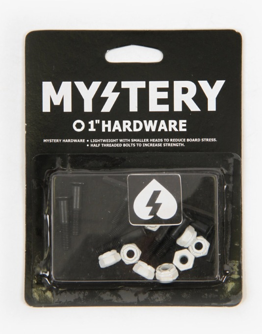 Mystery One Inch Allen Bolts