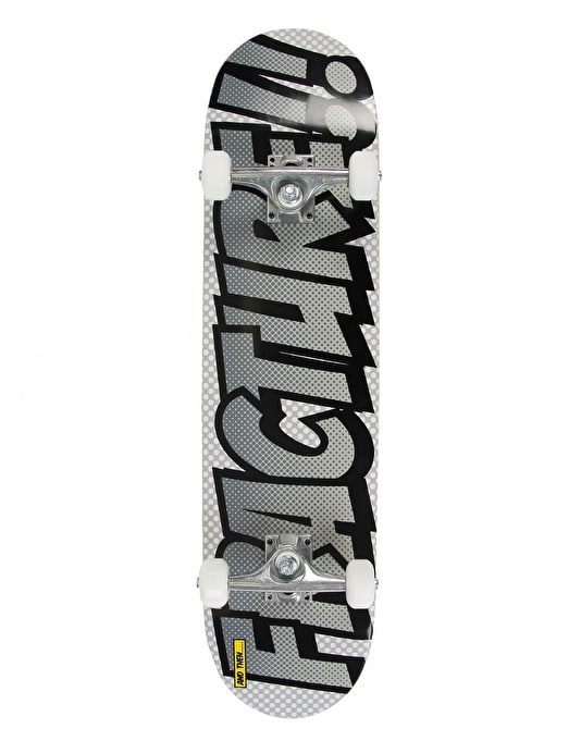 Fracture Comic Series 3 Complete Skateboard - Silver Surfer - 7.75""