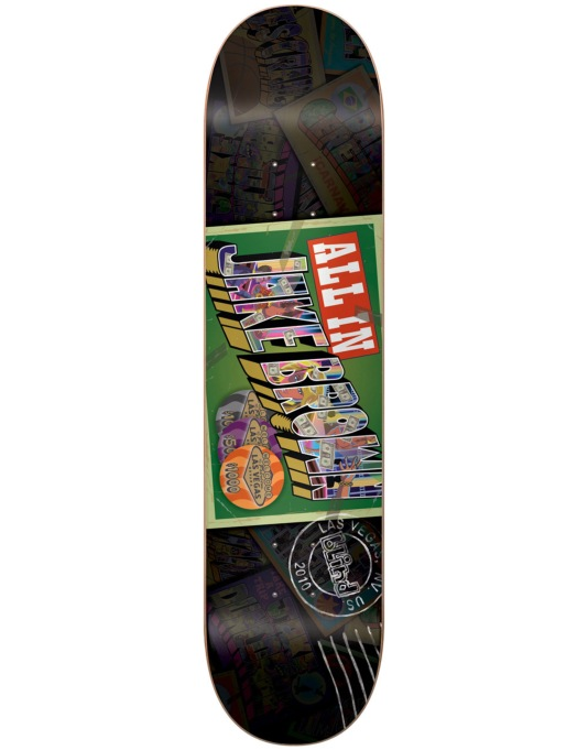 Blind Brown Postcard Skateboard Deck - 7.5""